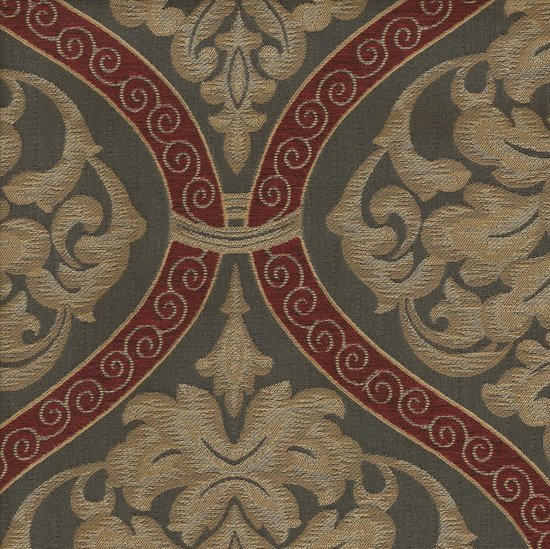Picture of Roman Ruby upholstery fabric.