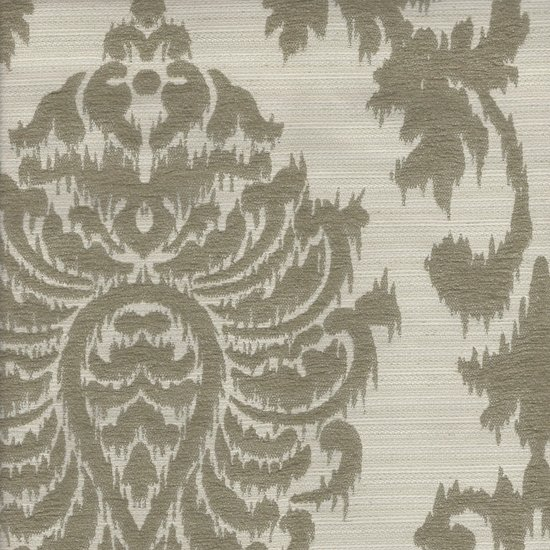 Picture of Paulina Silver upholstery fabric.