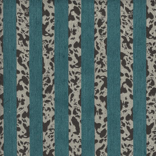 Picture of Chime Turquoise upholstery fabric.