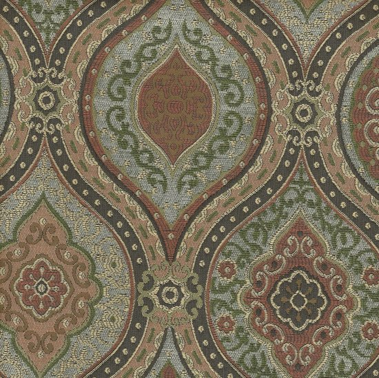 Picture of Montague Sky upholstery fabric.