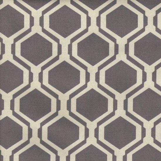 Picture of Fontana Smokey Plum upholstery fabric.