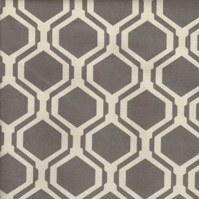 Picture of Fontana Smoke upholstery fabric.