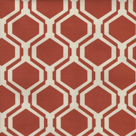 Picture of Fontana Clay upholstery fabric.