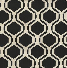 Picture of Fontana Black upholstery fabric.