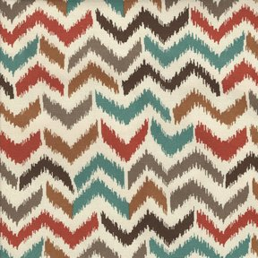 Picture of Firenza Coral upholstery fabric.