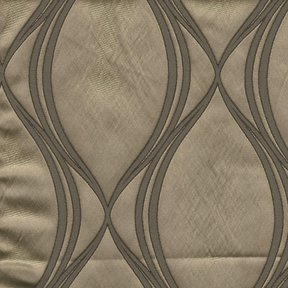 Picture of Majestic Wave Mocha upholstery fabric.