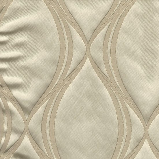 Picture of Majestic Wave Latte upholstery fabric.