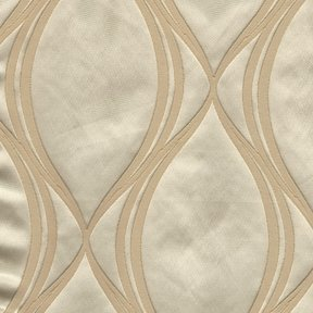 Picture of Majestic Wave Champagne upholstery fabric.