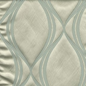 Picture of Majestic Wave Bliss upholstery fabric.