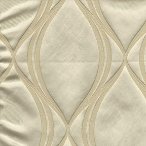 Picture of Majestic Wave Alabaster upholstery fabric.
