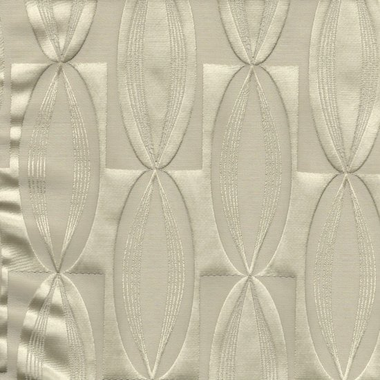 Picture of Majestic Vibe Vanilla upholstery fabric.