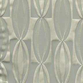 Picture of Majestic Vibe Silver upholstery fabric.