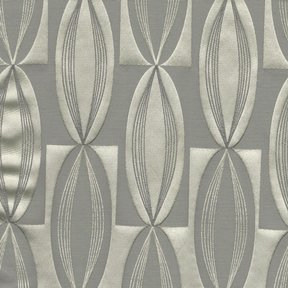 Picture of Majestic Vibe Platinum upholstery fabric.