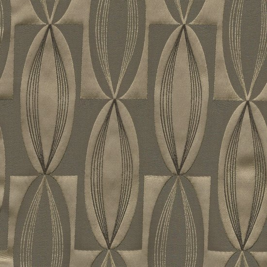 Picture of Majestic Vibe Mocha upholstery fabric.