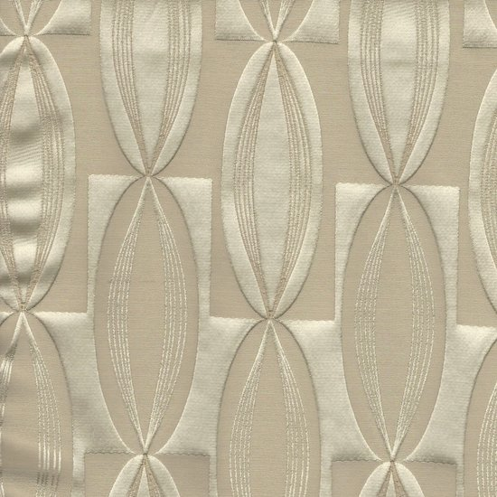 Picture of Majestic Vibe Latte upholstery fabric.