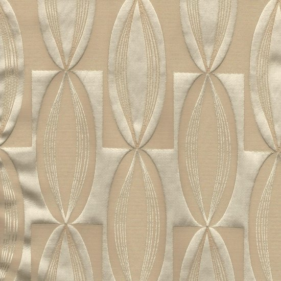 Picture of Majestic Vibe Champagne upholstery fabric.
