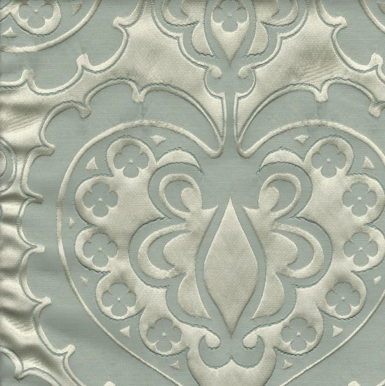 Picture of Majestic Heart Bliss upholstery fabric.