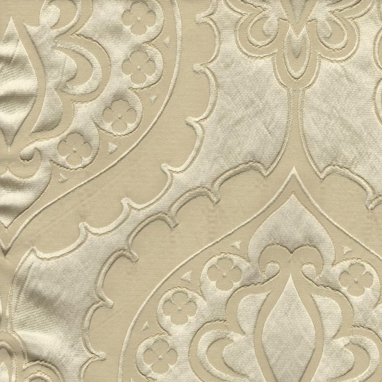 Picture of Majestic Heart Alabaster upholstery fabric.
