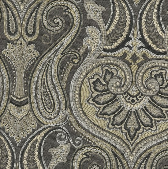 Picture of Jaclyn Silver upholstery fabric.