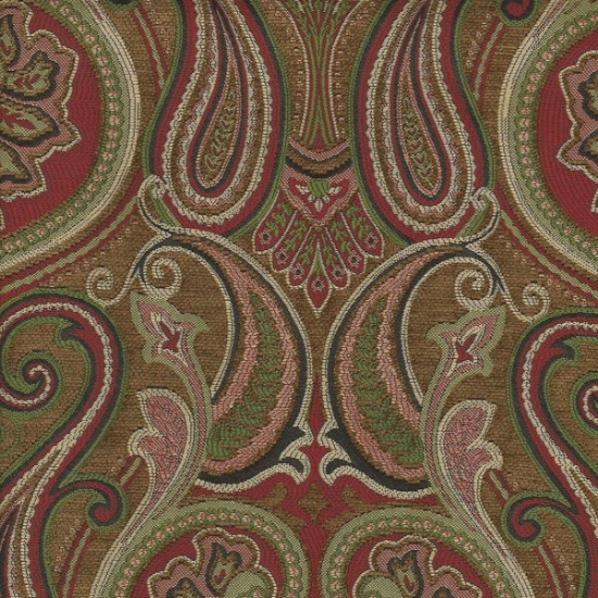 Picture of Jaclyn Ruby upholstery fabric.