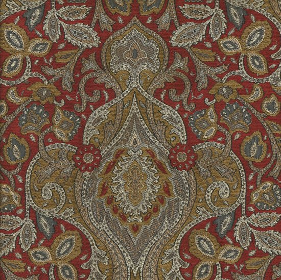 Picture of Cronos Ruby upholstery fabric.