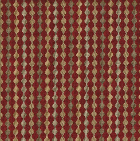 Picture of Biscotti Ruby upholstery fabric.