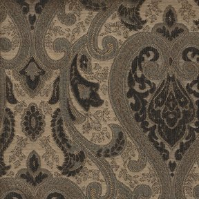 Picture of Monte Cristo Dark Brown upholstery fabric.