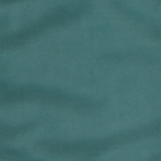 Picture of Star Velvet Turquoise upholstery fabric.