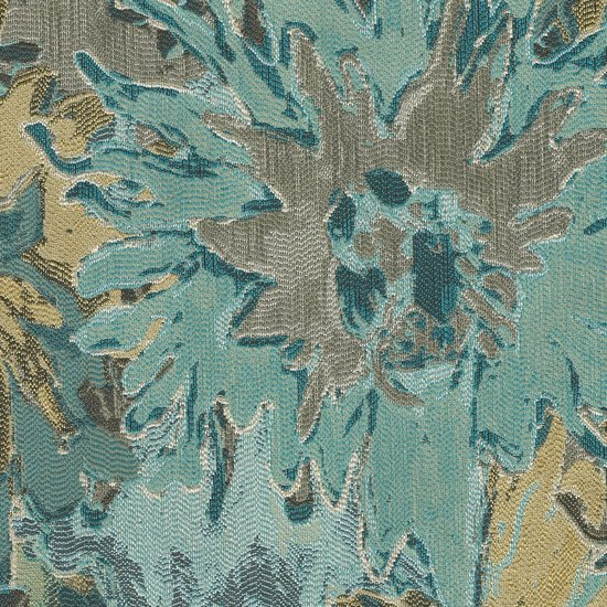 Picture of Startrek Lagoon upholstery fabric.