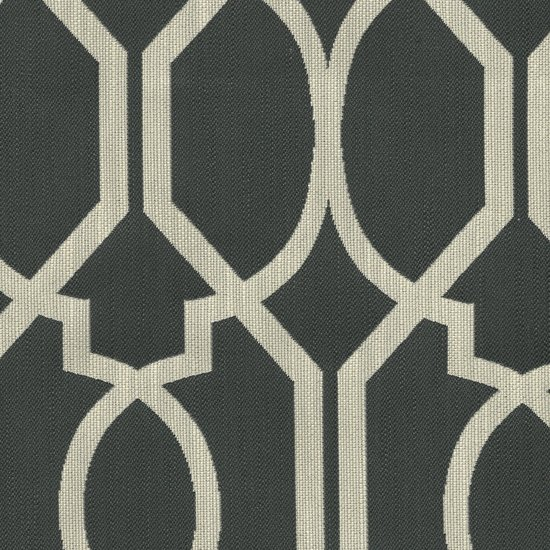 Picture of Refinery Charcoal upholstery fabric.