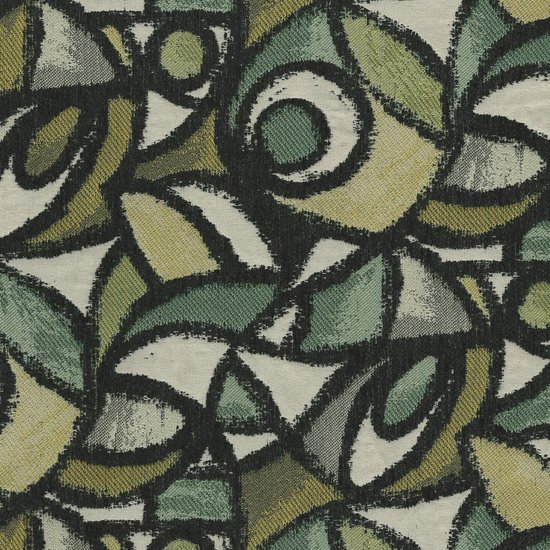 Picture of Picasso Seafoam upholstery fabric.