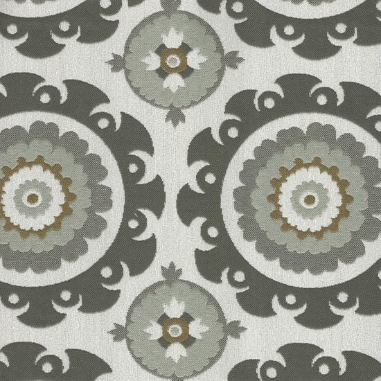 Picture of Ninja Charcoal upholstery fabric.