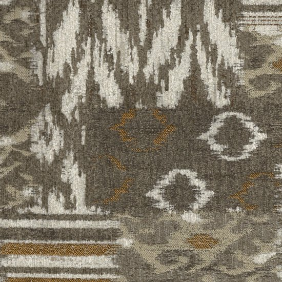 Picture of Bohemian Pecan upholstery fabric.
