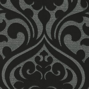 Picture of Chelsea Black upholstery fabric.
