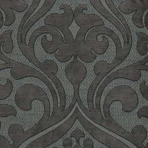 Picture of Chelsea Charcoal upholstery fabric.