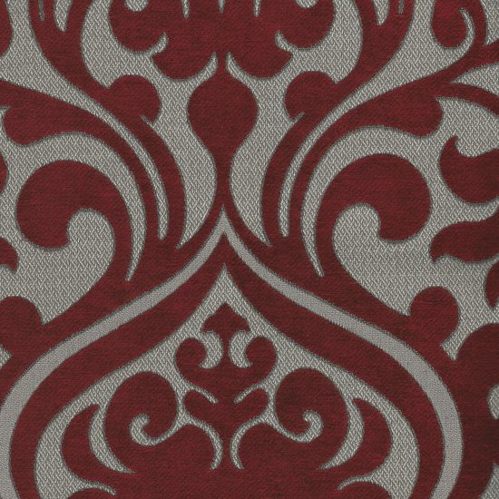 Picture of Chelsea Wine upholstery fabric.