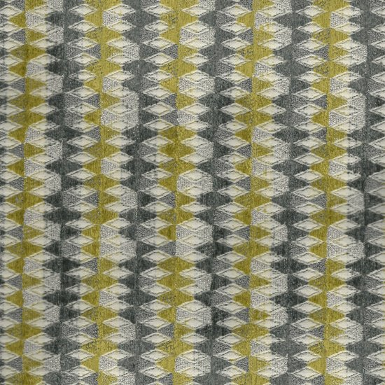 Picture of Diamond Star Silver upholstery fabric.