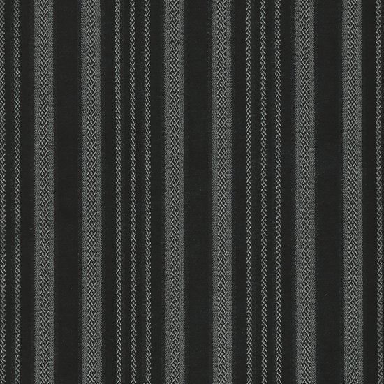 Picture of Ellis Black upholstery fabric.