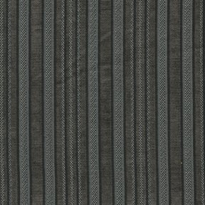 Picture of Ellis Charcoal upholstery fabric.