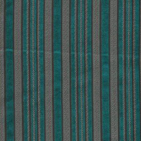 Picture of Ellis Turquoise upholstery fabric.