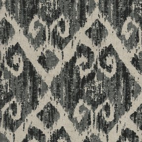 Picture of Hilton Charcoal upholstery fabric.