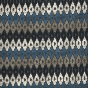 Picture of Janneti Blues upholstery fabric.