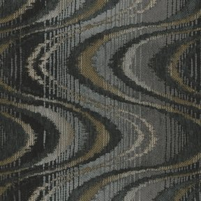 Picture of Magnitude Charcoal upholstery fabric.