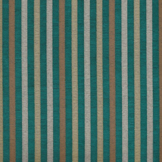 Picture of Marcus Turquoise upholstery fabric.