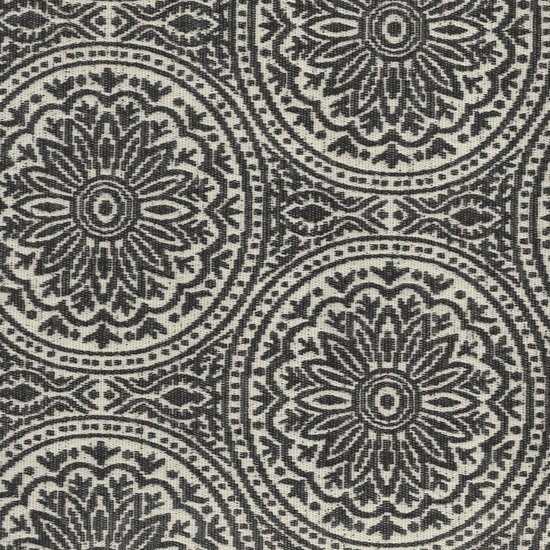 Picture of Morocco Charcoal upholstery fabric.
