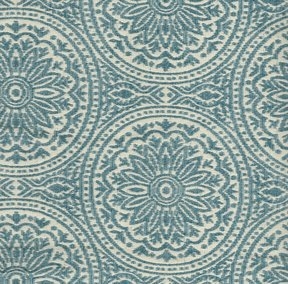 Picture of Morocco Sky upholstery fabric.