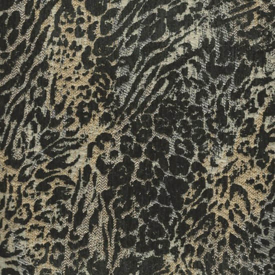 Picture of Mugatu Onyx upholstery fabric.