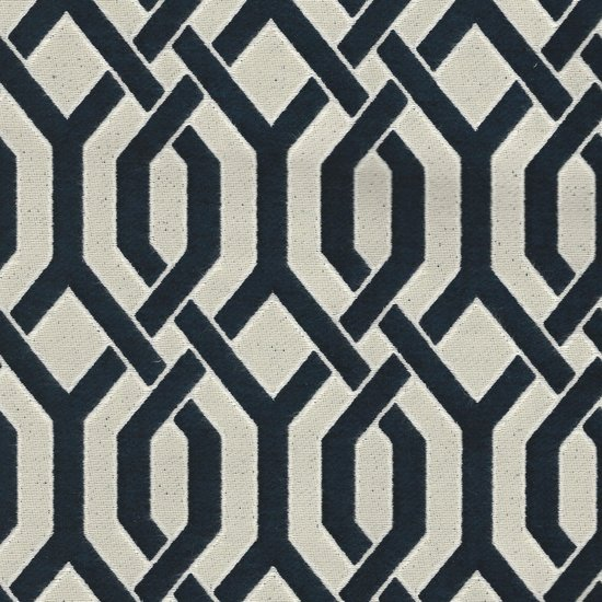 Picture of Naxos Navy upholstery fabric.
