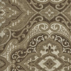Picture of Normandy Cream upholstery fabric.