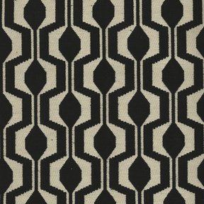 Picture of Polaris Black upholstery fabric.